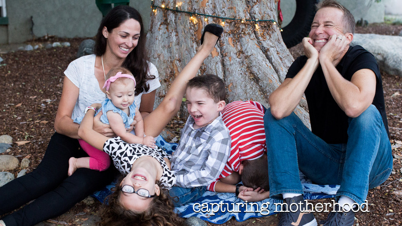 capturing motherhood